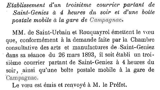 Gare de Campagnac Camp311