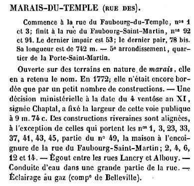tarif lettre chargée Marais10