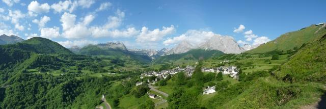 Escapade en vallée d'Aspe Panora10