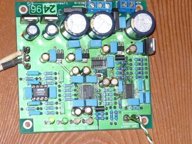 Dac Mini 2496 [AK4393 - AK4396] P1010211