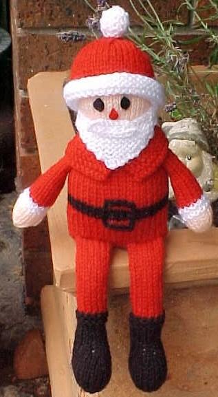 Pères Noël 12 Patrons Pour Le Tricot Ou Le Crochet 3