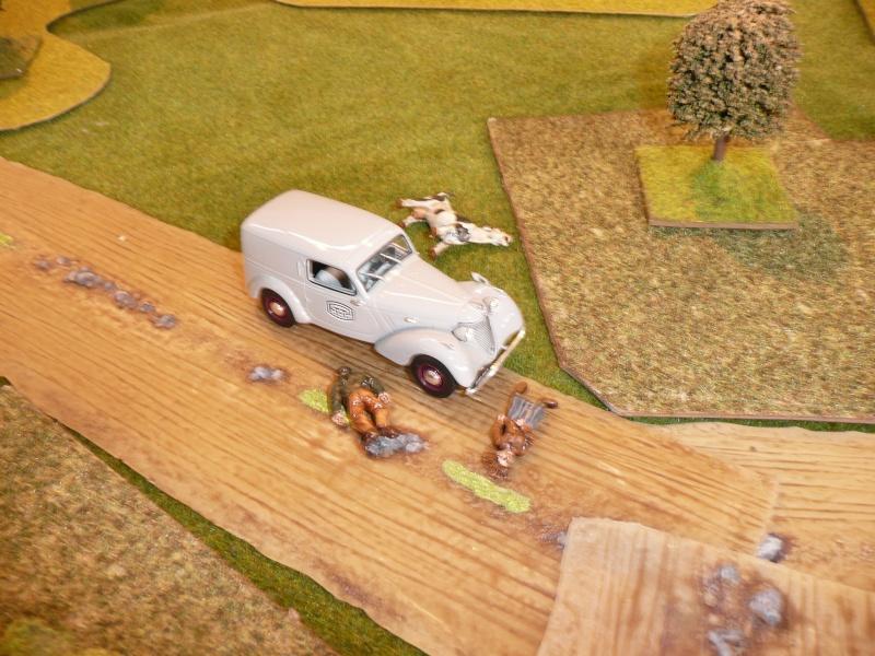 """Combats dans l'après midi, ou """"la bataille de Saint-Vrain"""" P1050318"""