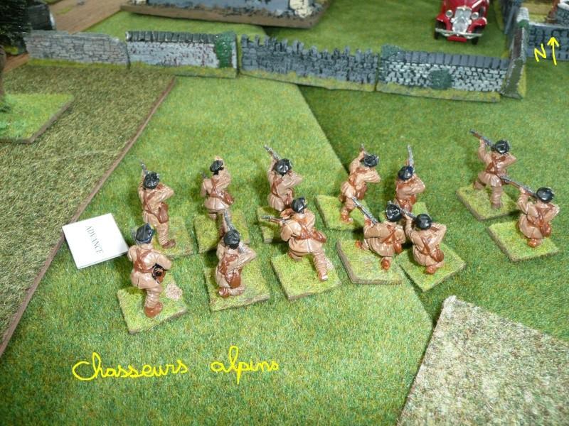 """Combats dans l'après midi, ou """"la bataille de Saint-Vrain"""" P1050335"""
