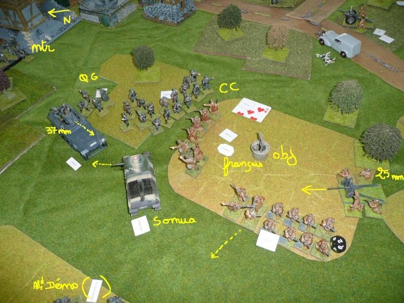 """Combats dans l'après midi, ou """"la bataille de Saint-Vrain"""" P1050337"""