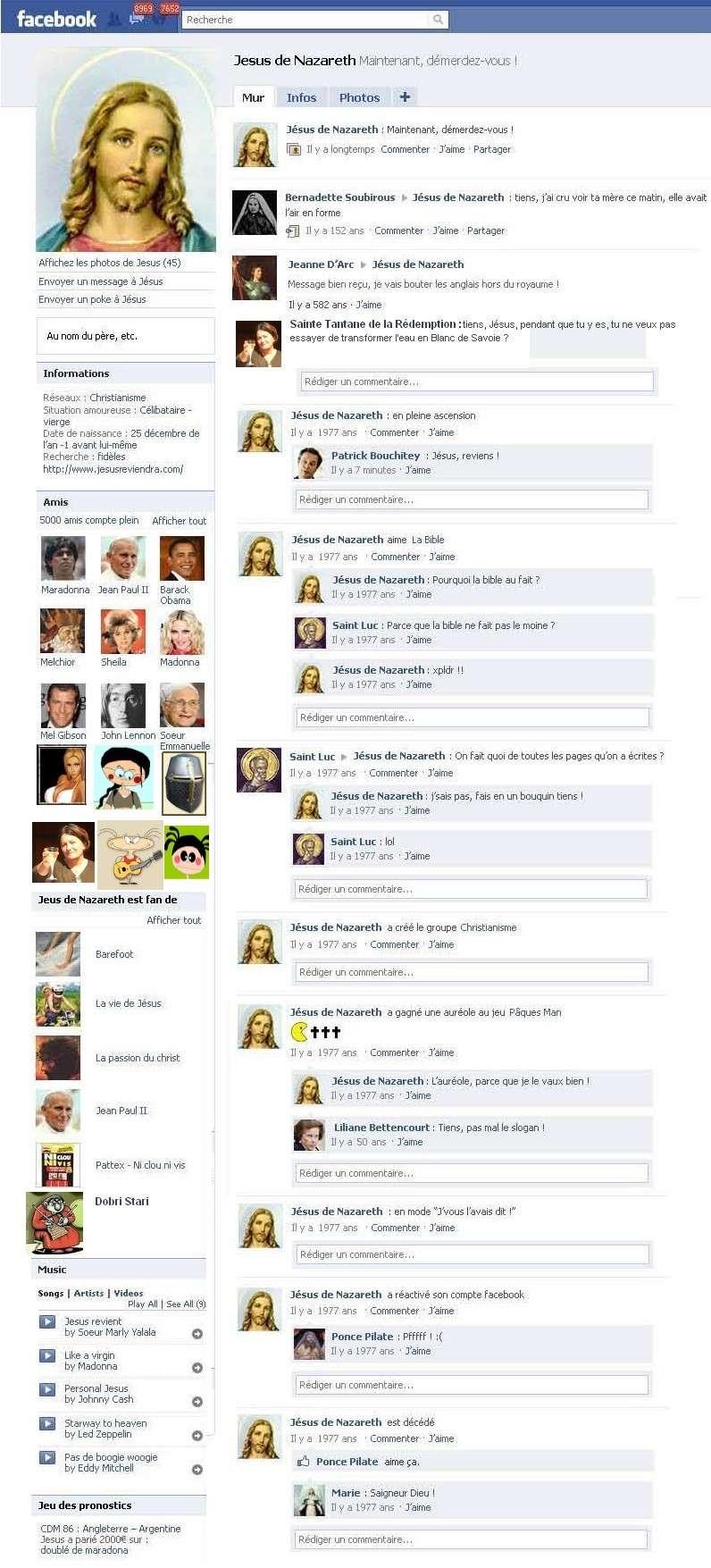 LA PAGE FACEBOOK DE JESUS CHRIST La_vie22