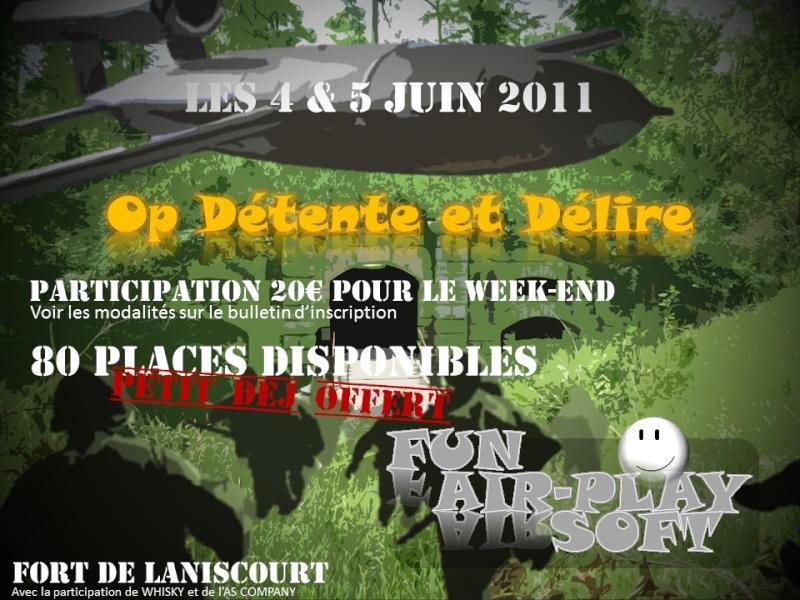 OP Détente & Délire - Les 4 & 5 juin 2011 - Mons-en-Laonnois Affich10