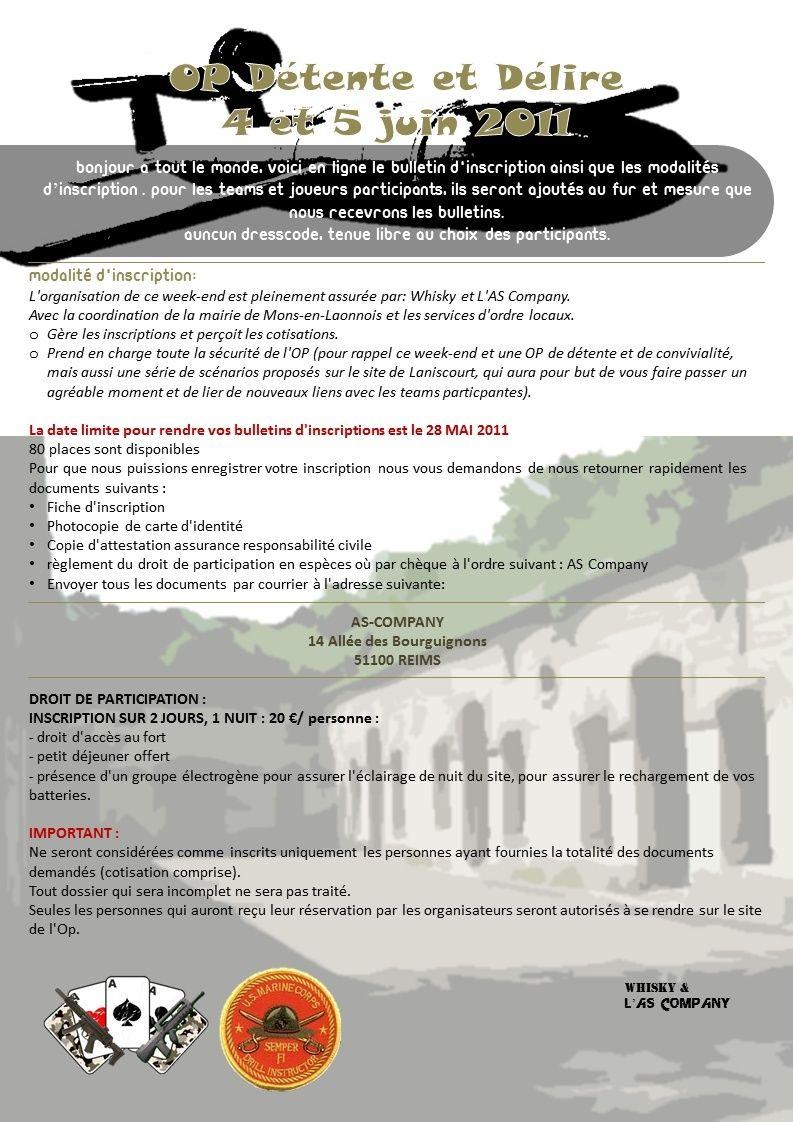 OP Détente & Délire - Les 4 & 5 juin 2011 - Mons-en-Laonnois Annonc10