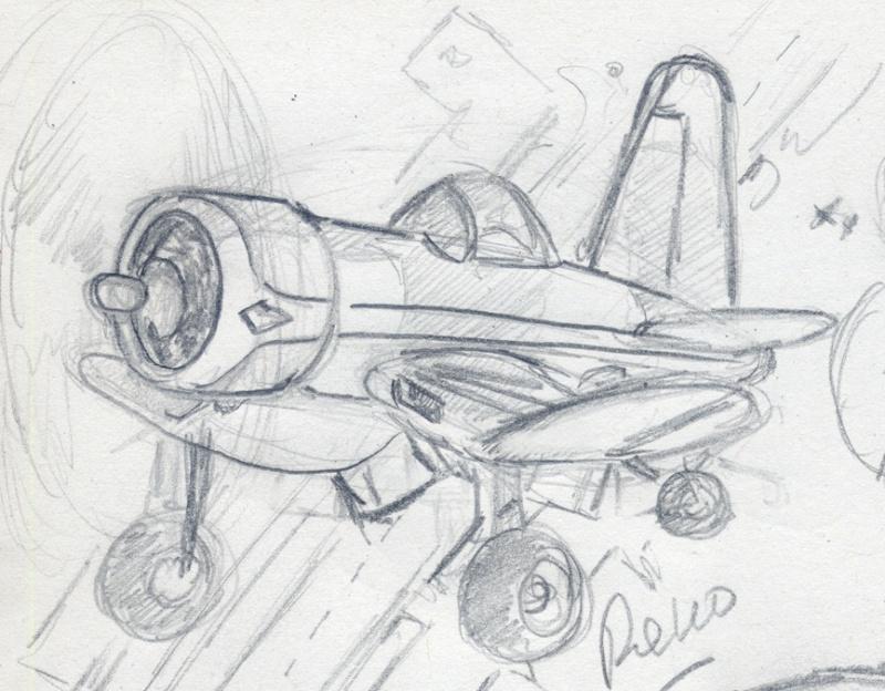 Coté Cartoon : le F2G Super corsair à Réno. Avion_25