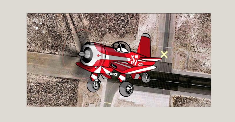 Coté Cartoon : le F2G Super corsair à Réno. Avion_27