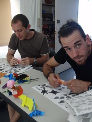 Atelier Origami le 21 septembre Cimg1420