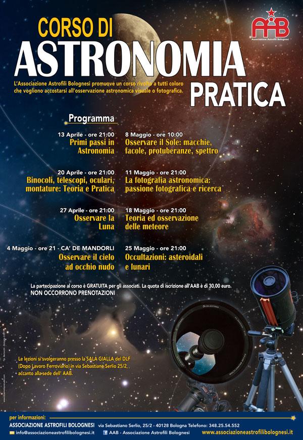 BOLOGNA 18 MAGGIO: serata su TEORIA e OSSERVAZIONE METEORE organizzata da AAB Locand11