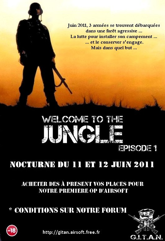 Welcome to the jungle (G.I.T.A.N) Affich10