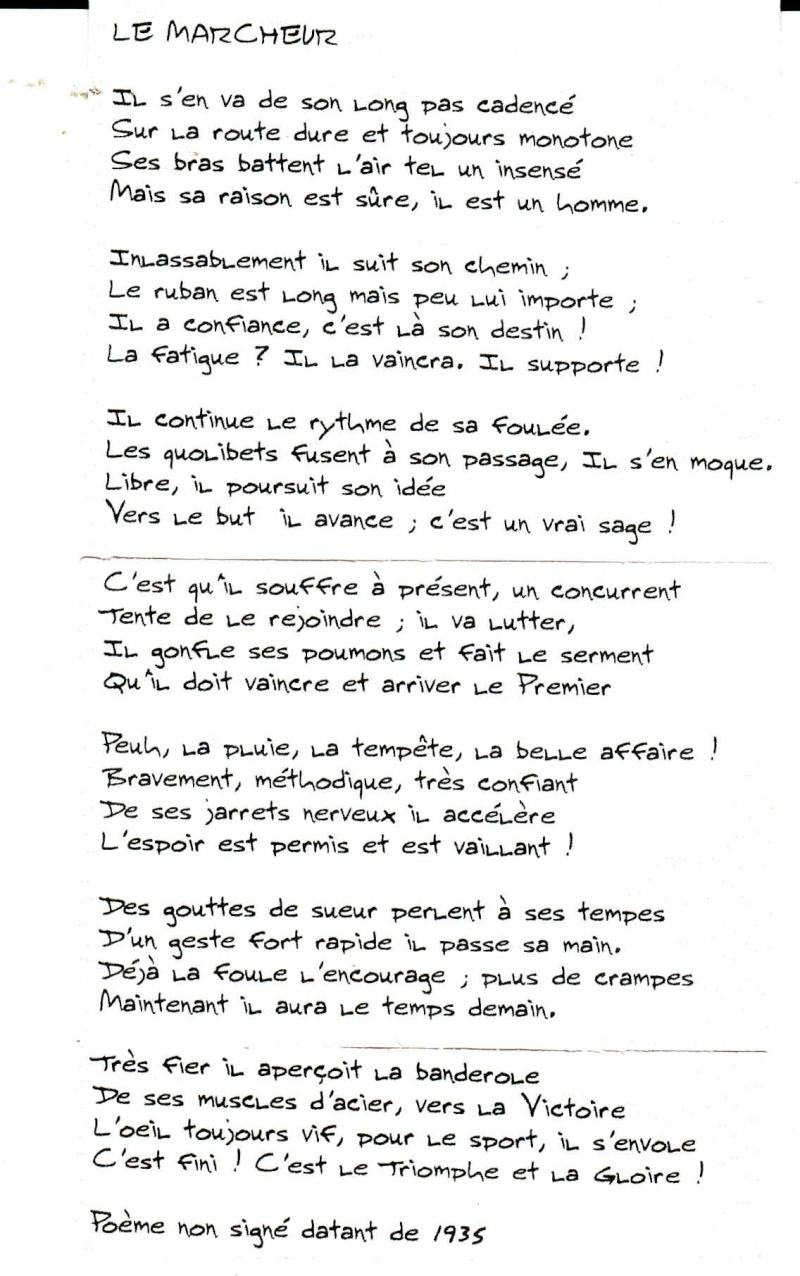 littérature sur le STRASBOURG-PARIS 2011 Poeme10