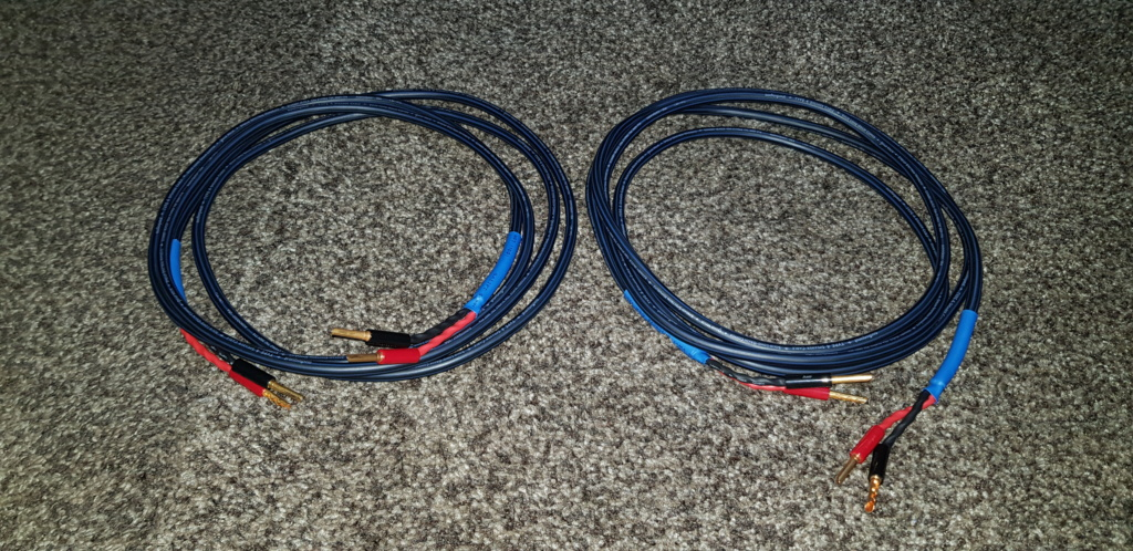 Audioquest Type 4 Speaker Cable (SOLD) 20191210