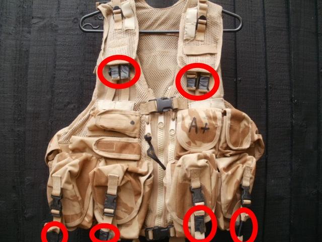 Webtex Special Forces Assault vest. P5210010