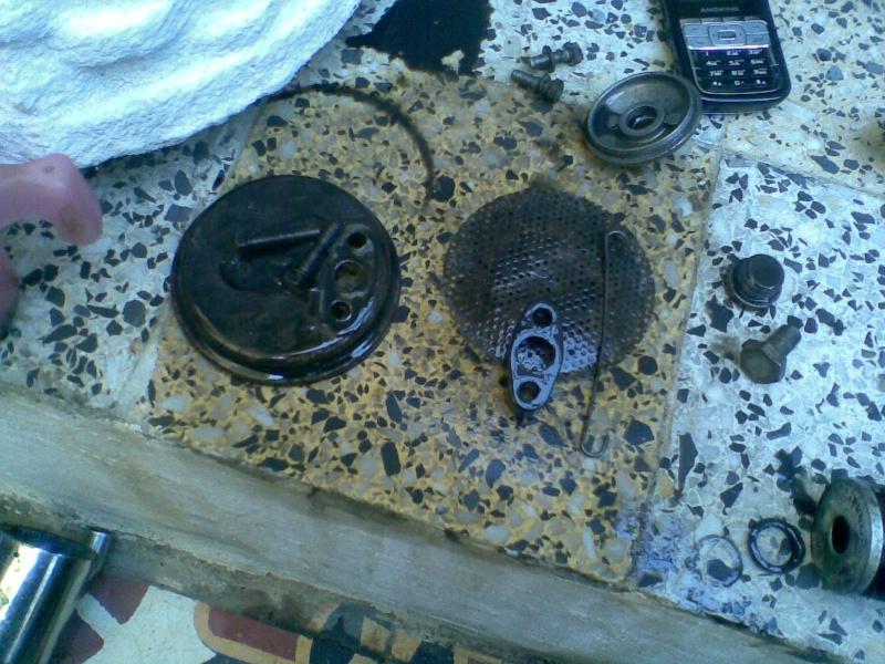 Témoin d'huile qui s'allume à bas régime quand le moteur est à température de fonctionnement - Page 3 Photo038