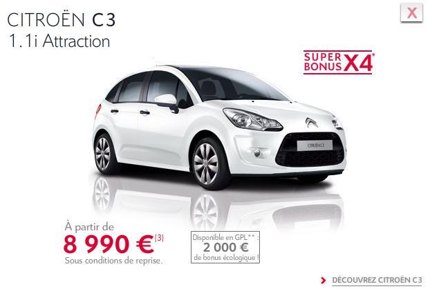 [ACTUALITE] Les promotions de Citroën - Page 3 C310