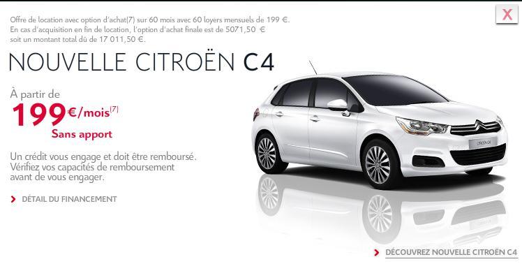 [ACTUALITE] Les promotions de Citroën - Page 3 C411