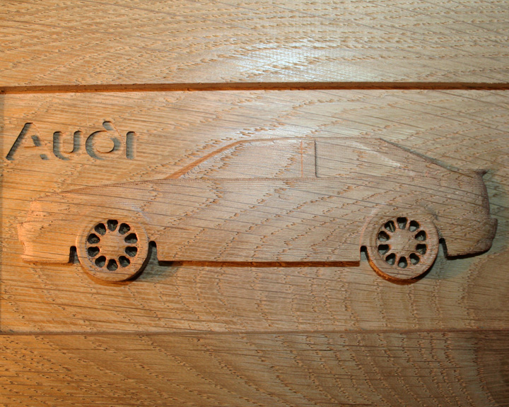 Gravure sur bois à la CN 113