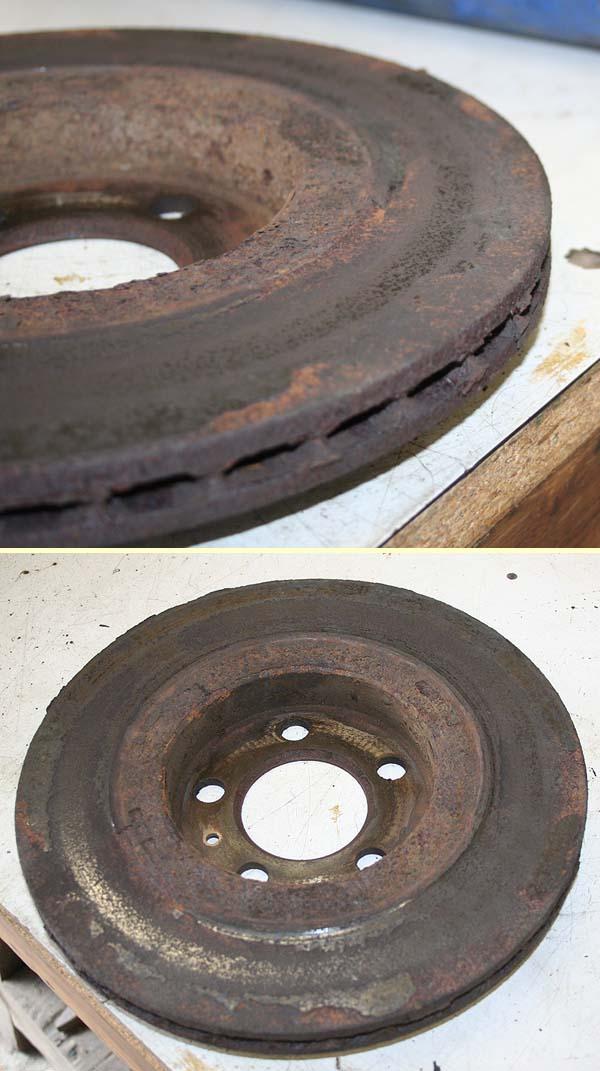 Remise en état disques de frein 119