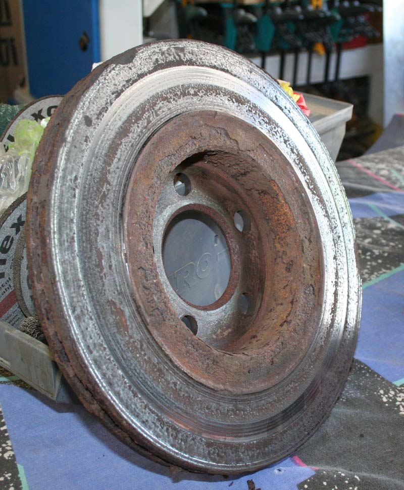 Remise en état disques de frein 120