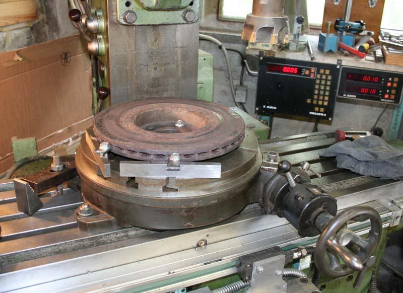 Remise en état disques de frein 414