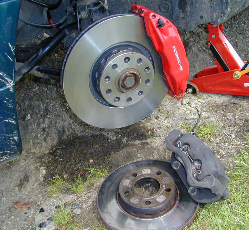 Remise en état disques de frein 415