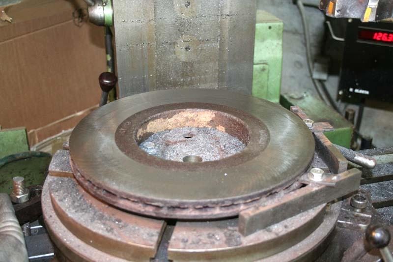 Remise en état disques de frein 614
