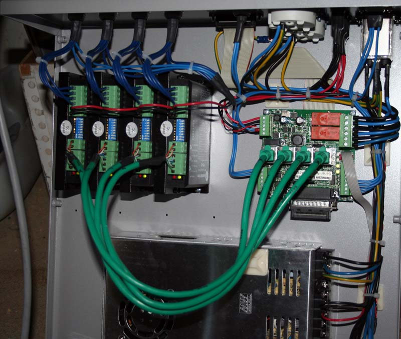 CNC USB controller Mk3/4 (4 axis) Carteb10