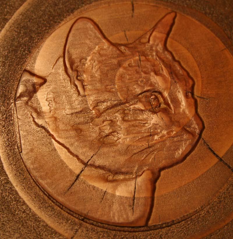 Gravure sur bois à la CN Caty_110