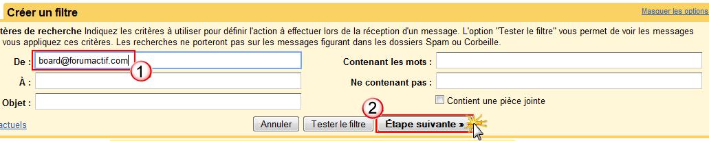 Problème de réception des notification par mail Creeru10