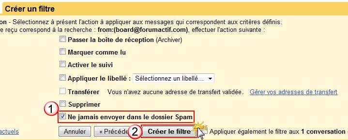 Problème de réception des notification par mail Creeru11