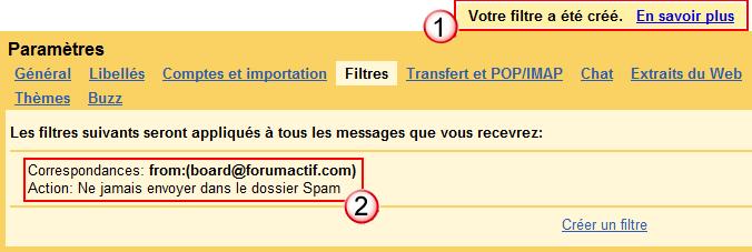 Problème de réception des notification par mail Creeru12