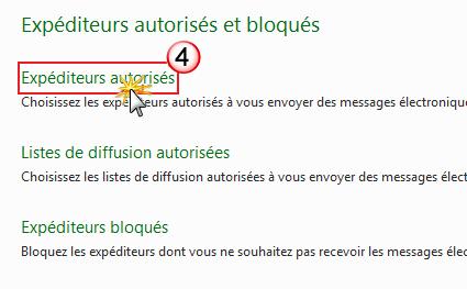 Problème de réception des notification par mail Exp_au10