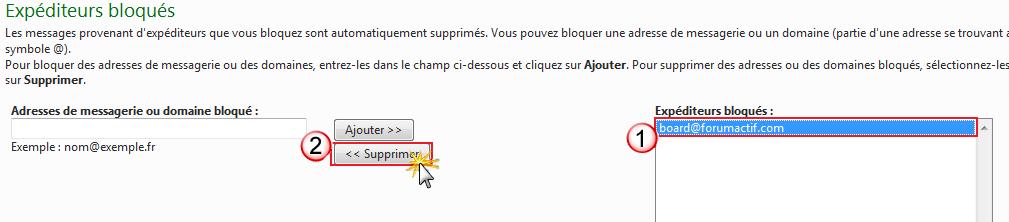 Problème de réception des notification par mail Exp_bl10
