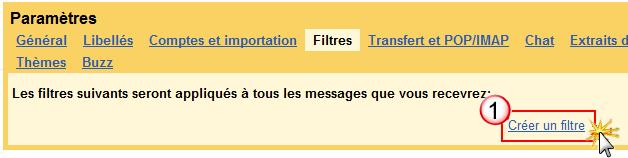 Problème de réception des notification par mail Filtre14