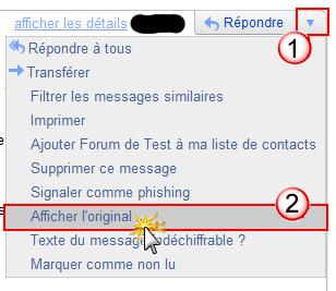 Test des notifications avec Gmail pour Tech Gmail10
