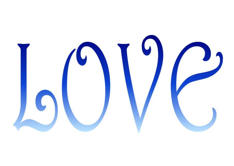 Pancartes LOVE en couleur Luv1610