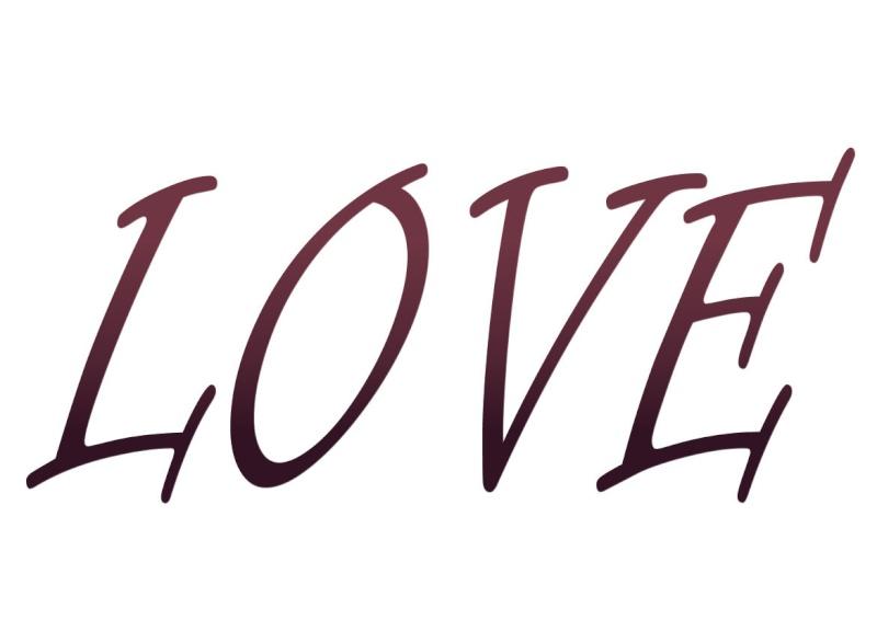 Pancartes LOVE en couleur Luv1711