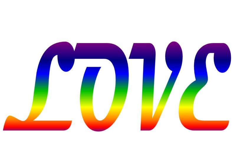 Pancartes LOVE en couleur Luv2010
