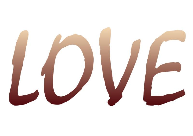 Pancartes LOVE en couleur Luv2210