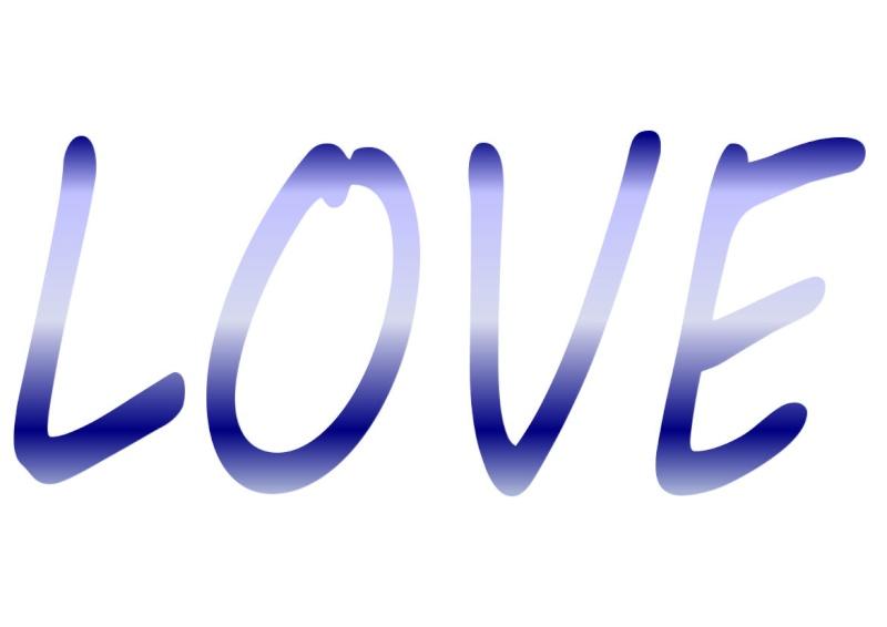 Pancartes LOVE en couleur Luv2310