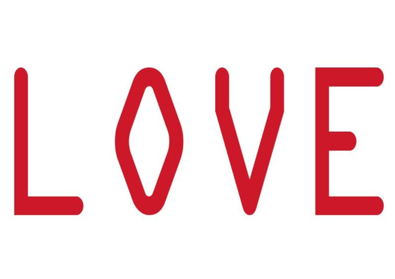 Pancartes LOVE en couleur Luv2410