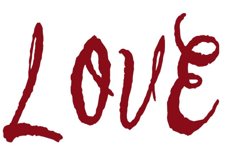 Pancartes LOVE en couleur Luv2510