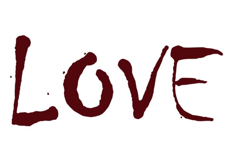 Pancartes LOVE en couleur Luv410