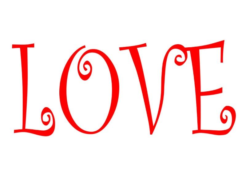 Pancartes LOVE en couleur Luv610