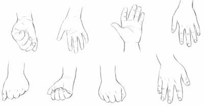 [Aide] Pied et main dans differente position 16887110