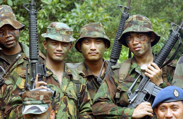 Camouflages du monde entier - Page 2 Brunei10