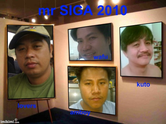 the candidates for Mr&Ms SIGA 2010 Mr_sig10