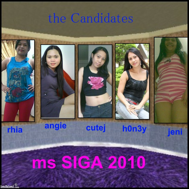 the candidates for Mr&Ms SIGA 2010 Ms_sig12
